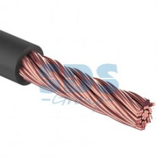 "Кабель силовой ""Power Cable"" 1х10мм², черный, 50м., d 7,5 мм. REXANT"