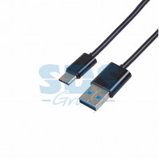 Шнур USB 3.1 Type-C (male)-USB 2.0 (male) 2 м черный
